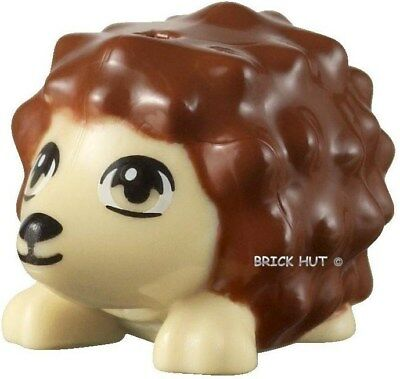 Lego Animals Friends - Reddish Brown Hedgehog (Oscar) - Select Qty + Gift - New