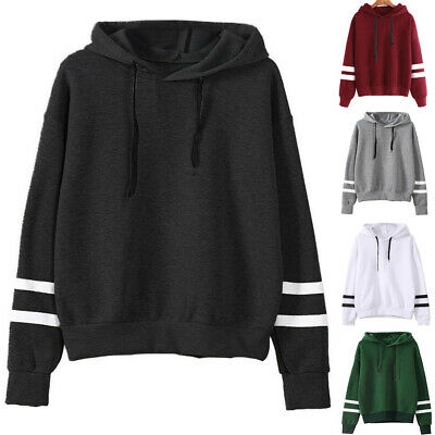 UK Womens Winter Hooded Sweater Coat Ladies Wrap Hoodie Sweatshirt Outwear Tops