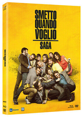 Blu Ray Smetto Quando Voglio 1-2-3 - Collection (3 Blu Ray) ....NUOVO