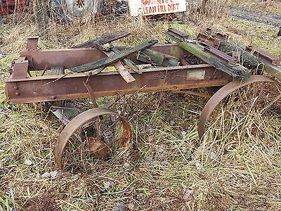LARGE ANTIQUE INDUSTRIAL FACTORY ENGINE CART STEEL WHEELS shipping available