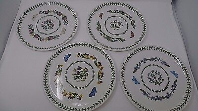PORTMEIRION Buffet plates x 4 The Botanic Garden design Boxed. Christmas gift *