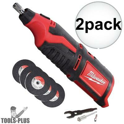 Milwaukee 2460-20 2pk 12 Volt M12 Cordless Rotary Tool (Tool Only) New