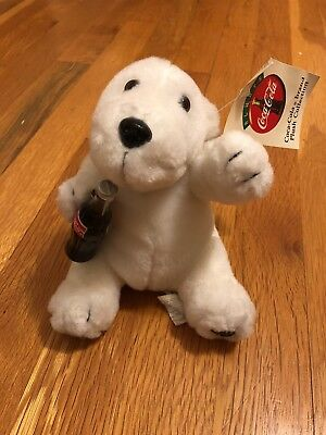 Coca-Cola Plush Polar Bear New With Tags