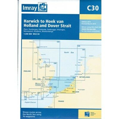 CARTE MARINE IMRAY C30 HARWICH TO HOEK VAN HOLLAND alciumpeche