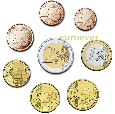 3,88 Euro KMS coin set UNC Lose - alle Länder u. Jahre / all countries a. years