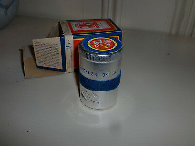AGFA Film. Umkehrfilm Patrone. Original verpackt.1953. Box with Coil. 15/10 Din
