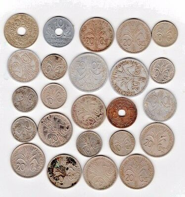 Lot of Indochina Coins
