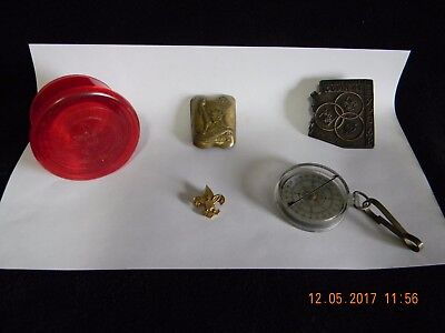 Vintage Boy And Cub Scout Items, A Must L@@k