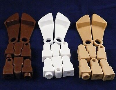 gravity catch latches and fittings for drop side cots in Brown White or Pine cot
