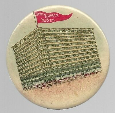 Schlesinger And Mayer Historic Chicago Department Store Advertising Mirror