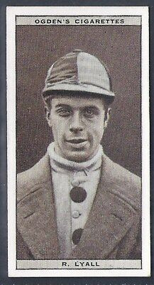 Ogdens-Steeplechase Celebrities-#24- Top Quality Horse Racing Card!!!