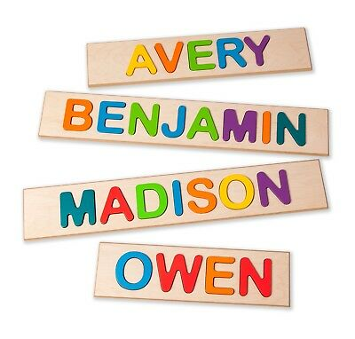 Superfly Kids Child's Personalized Name Puzzle - Up To 9 Letters