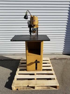 Challenge Paper Drilling Machine Style Jf Part #30069 Nice Condition Clean Works