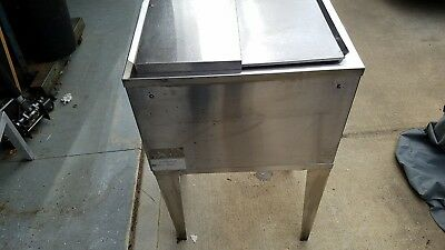"""""""CORNELIUS"""" COMMERCIAL SS (NSF) 9 CIRCUITS COLD PLATE ICE BIN w/LID"""
