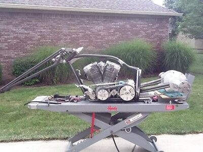 2017 Custom Built Motorcycles TRIKE FRAME  CUSTOM TRIKE FRAME WITH SWINGARM FORKS AND DIFFERENTIAL