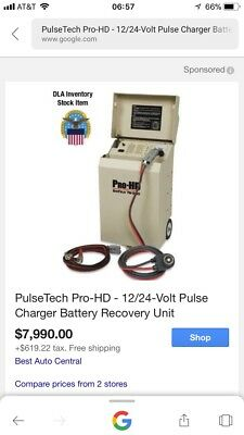 PulseTech Pro-HD - 12/24-Volt Pulse Charger Battery Recovery Unit