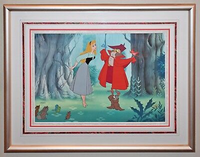 Original Walt Disney Sleeping Beauty Limited Edition Cel Once Upon A Dream