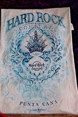 Hard Rock Couture  Punta Cana Ladies T Shirt Size Large  New with Tags