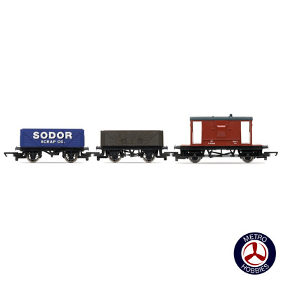 Hornby OO Thomas & Friends Wagon Triple Pack A HOR-R9300 Brand New