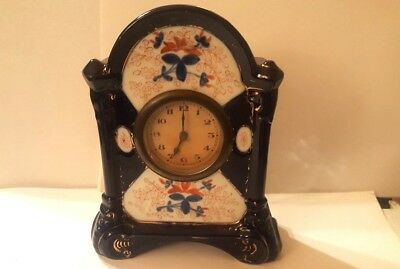 WELSH GAUDY CLOCK- late 19th century