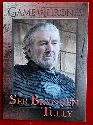 GAME OF THRONES - Season 6 - Card #93 - SER BRYNDEN TULLY - Rittenhouse 2017