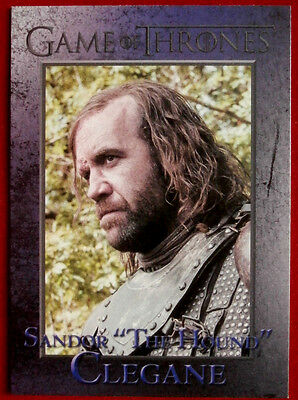 GAME OF THRONES - THE HOUND - Season 3, Card #54 - Rittenhouse 2014