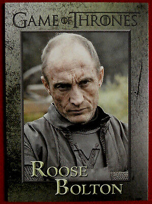 GAME OF THRONES - ROOSE BOLTON - Season 3, Card #73 - Rittenhouse 2014