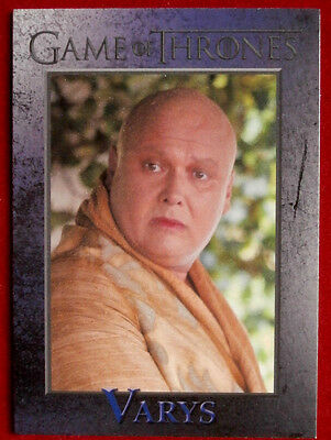 GAME OF THRONES - LORD VARYS - Season 3, Card #50 - Rittenhouse 2014