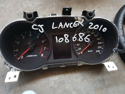 2007-2013 Cj Lancer Speedometer , With The Speedometer  Reading 108 686