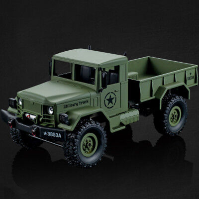 Toy Grade HengLong HL 1/16 4*4 4WD RC US USA Military Truck RTR Off-road Crawler