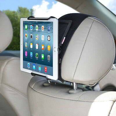 Car Headrest Mount Holder with Angle- Adjustable Clamp for Tablets - i PAD