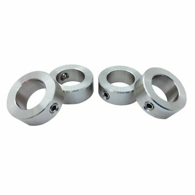 """4Pcs 5/8"""" Bore Stainless Steel Shaft Collars Set Screw Style"""