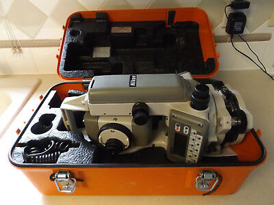 "Nikon Dtm 310 4"" Total Station For Surveying & Constructiomn With Case & Accesso"