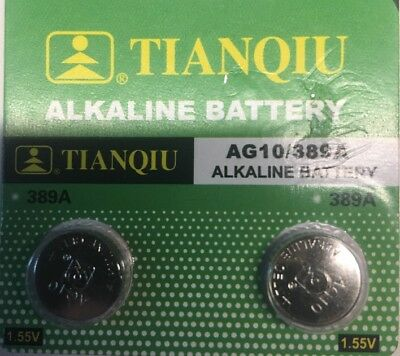 AG10-2 Tianqiu LR1130 LR54 SR1130 SR1130W Free Ship from USA. EXP. 2021