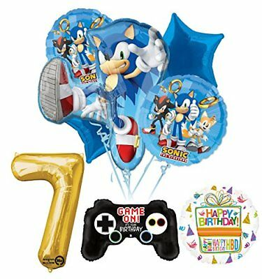 The Ultimate Sonic The Hedgehog 7th Birthday Party Supplies