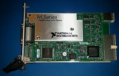 NI PXI-6255 80ch 16bit M-Series, Multifunction DAQ National Instruments *Tested*