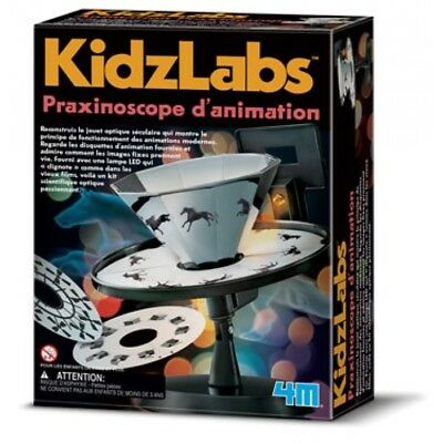 Kit Praxinoscope d'animation - 4M