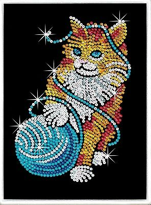 Tableau Sequin Art Chat - Sequin Art