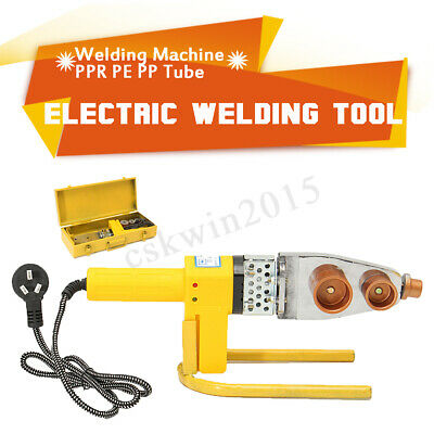220V Automatic Electric Pipe Welding Machine Heating Tool For PPR PE PP PPC Tube