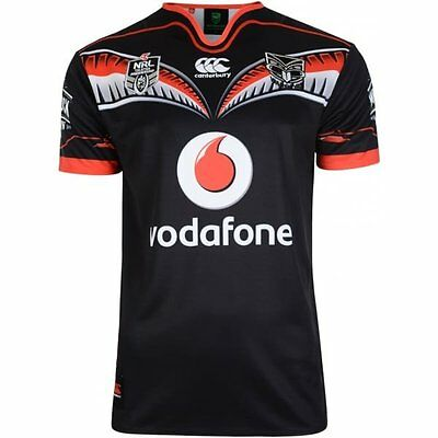 New Zealand Warriors   Replica Shirt Home    BNWT