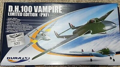 Durafly Limited edition  D.H.100 Vampire