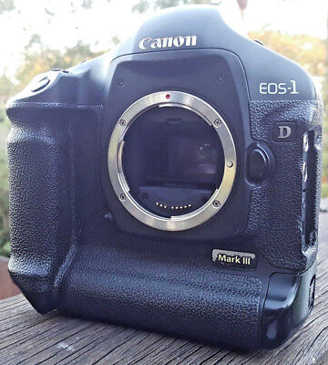 CANON 1D MARK III MK 3 DSLR Seviced by Canon NEW SHUTTER * 3K Actuations * VGC *