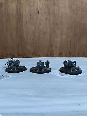 Warhammer 40k Astra Militarum/ Imperial Guard Cadian Heavy Weapon Squad