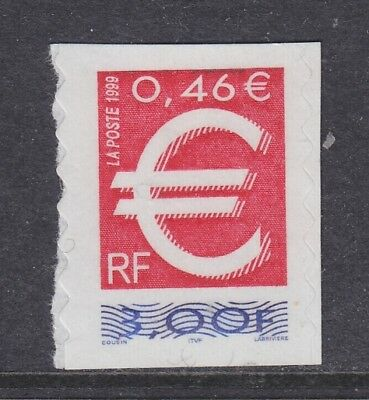 France 1999 Euro 1v self adhesive from booklet 1v ** mnh (WI02)