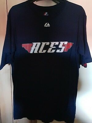 Melbourne Aces Australian Baseball League Official Merch Tshirts - Total Of 3