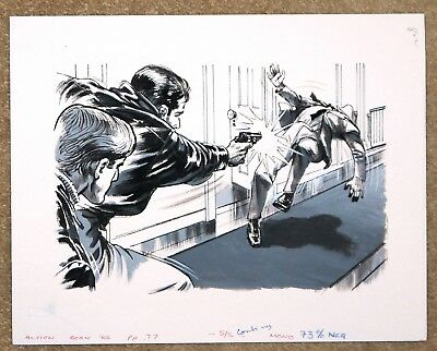 Action Book Original Art Illustrations 1982