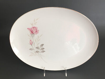 Camelot China serving platter AMERICAN ROSE #1655 Japan 1960's