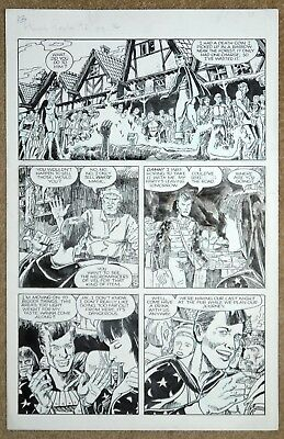 John Ridgeway/ Paquette Harsh Realm Original Artwork