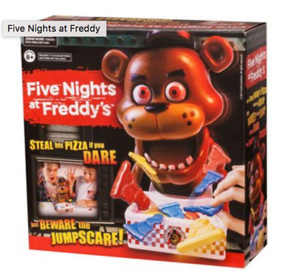 Rare ☀ Five Nights At Freddy's FNAF Jumpscare ☀ Board Game Pizza Game Scary Fun