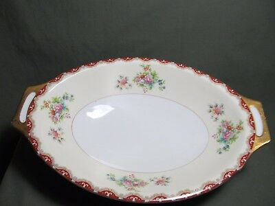 "Meito China Versailles  11"" Oval Vegetable Bowl"